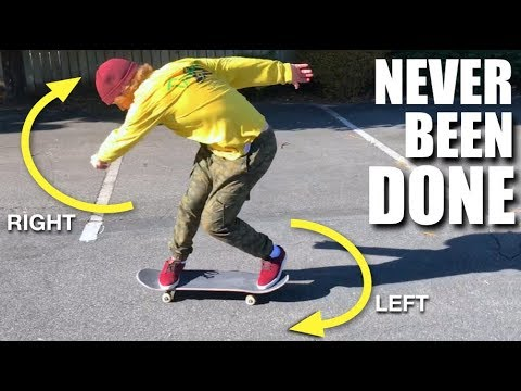 10 Skate Tricks NEVER Done Before! (PART 2)