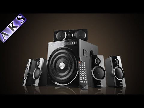 F&D F6000U 5.1 Home Theatre UnBoxing by AKS