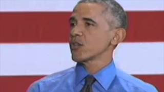 President Obama addressed the Flint water lead poisoning in Detroit speech