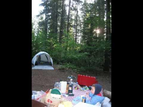 Voyage et Camping au lac du Crater