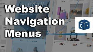 HTML Website Navigation Menus without Prototype [Adobe XD]