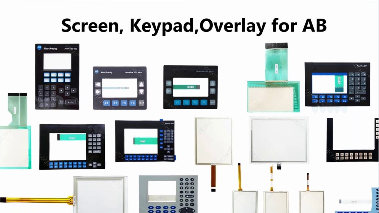 6AV2 124-1DC01-0AX0 Membrane Keypad Switch for 6AV2124-1DC01-0AX0 KP400 COMFORT