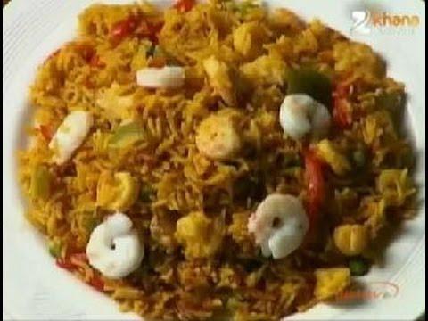 Paella – Sanjeev Kapoor – Khana Khazana