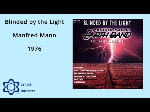 Blinded by the Light - Manfred Mann 1976 HQ Lyrics MusiClypz