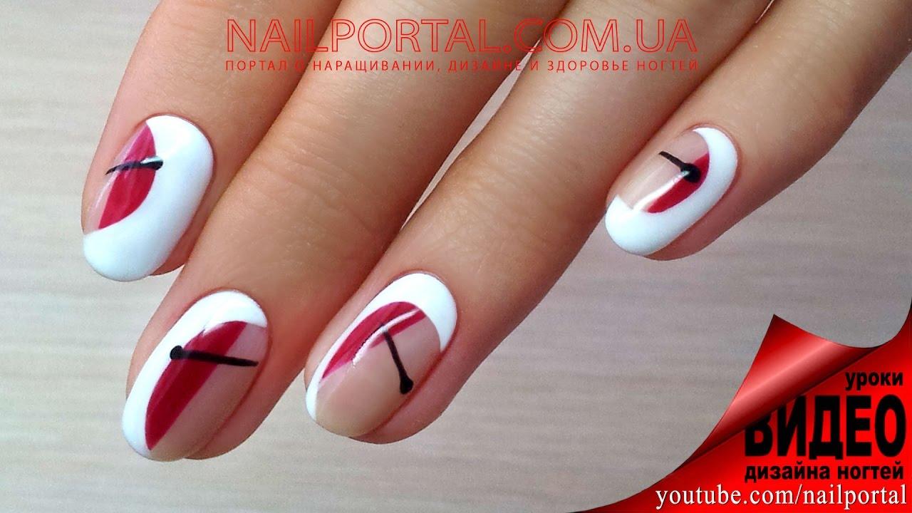 Роспись ногтей гель-лаками