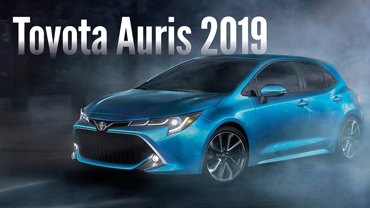 toyota corolla hatchback 2019 auris noticias car motor youtube. Black Bedroom Furniture Sets. Home Design Ideas