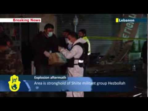 Beirut blast aftermath: Forensics teams investigate hit on Hezbollah stronghold