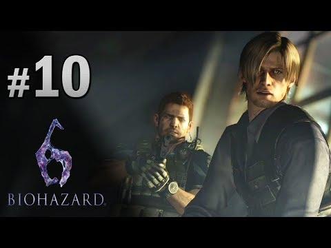 #10 兩大男神對決 Chris VS Leon   Biohazard 6 生化危機 6 中文版