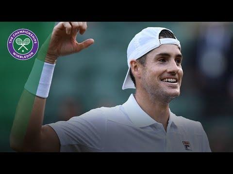 Milos Raonic vs John Isner QF Highlights | Wimbledon 2018