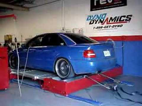 stage 2 2001 b5 audi s4 awd dyno dynamic run youtube. Black Bedroom Furniture Sets. Home Design Ideas