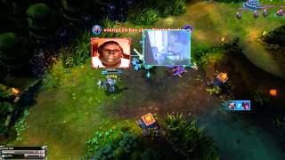 New! League of Legends Webcam Feature