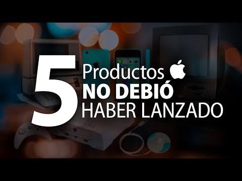 5 Productos Que Apple No Debió Haber Lanzado