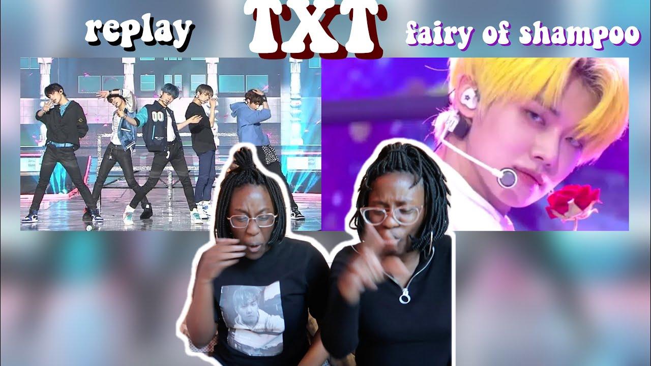 TXT - INTRO + 누난 너무 예뻐 (원곡 : SHINee) + Fairy of Shampoo LIVE | REACTION