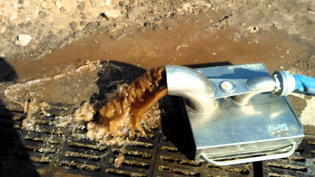 Gut gemocht Reinigung einer Wasserleitung per Luftinjektion - YouTube FU31