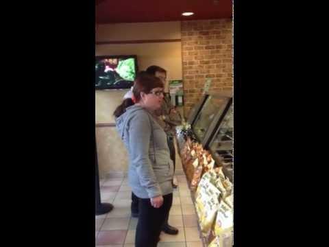 crazy customer