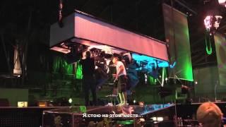 Съёмки фильма Metallica Сквозь Невозможное. 2/11