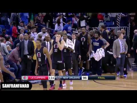 Chris Paul, Blake Griffin & Jamal Crawford At Pelicans (02/12/2016) - Unstoppable!