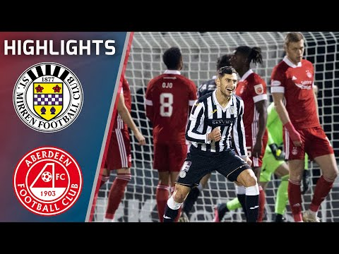 St Mirren Aberdeen Goals And Highlights
