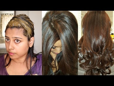 17a65b23e0a30 How To Colour Your Hair Chocolate Brown Naturally At Home - YouTube