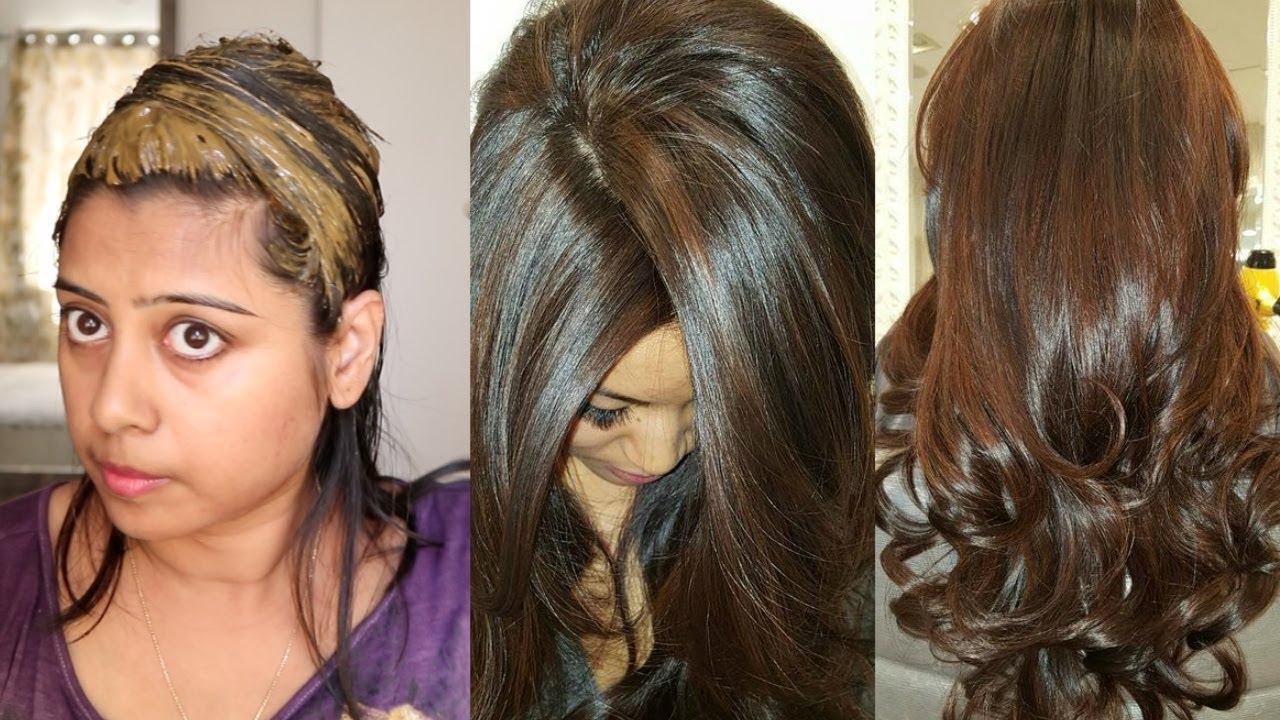 colour hair chocolate