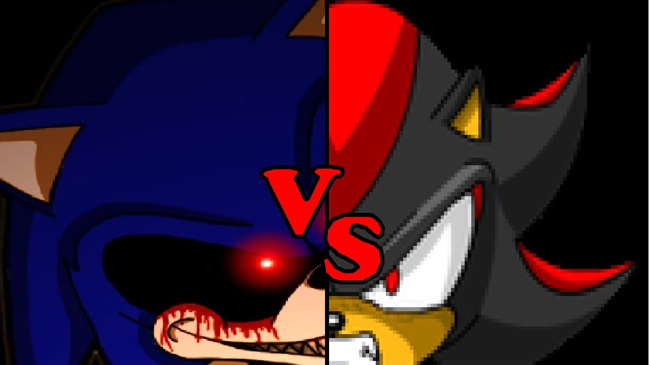 68a467db1d999 Shadow vs Sonic.exe - Small teaser (OLD) - YouTube