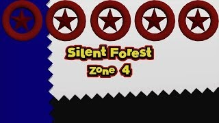 Sonic Lost World - Silent Forest Zone 4 - All Red Star Rings