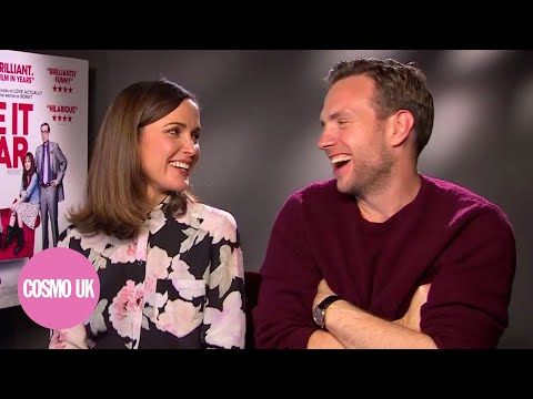 EXCLUSIVE interview  I Give It A Year interview with Rafe Spall and Rose Byrne