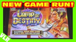 FUN RUN ON NEW GAME - LAMP OF DESTINY - Slot Machine Bonus(I'm VegasLowRoller and this is my FUN RUN ON NEW GAME LAMP OF DESTINY Slot Machine Bonus video. Filmed at the Silverton Casino here in Las Vegas, ..., 2016-04-05T16:26:54.000Z)