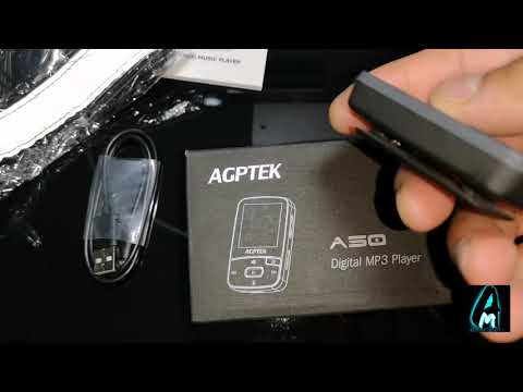 Agptek A50 Bluetooth Mp3 Player with Clip (Review)