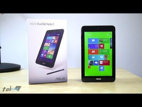 ASUS VivoTab Note 8 Unboxing & Hands-On | tabtech.de