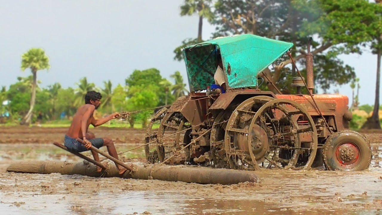 Mahindra Excellent Mud Leveling Skills | Mahindra 475 DI | Tractor Videos | SWAMI Tractors
