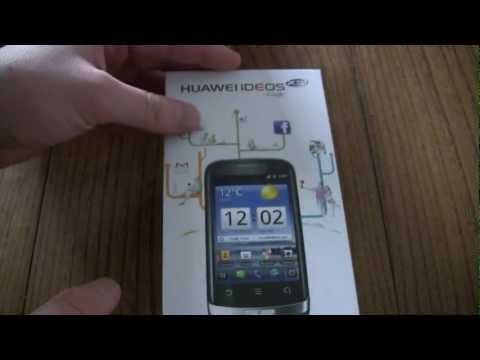 Huawei Ideos X3 Unboxing