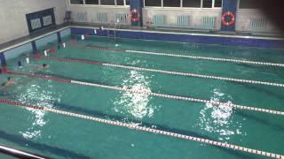 Соревнование по плаванию, Хмельницкий, ДЮСШ №3, 23.12.2015