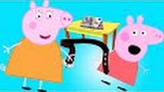 Свинка Пеппа получила двойку Мама дала ремня Мультик анимация Новые серии Peppa pig