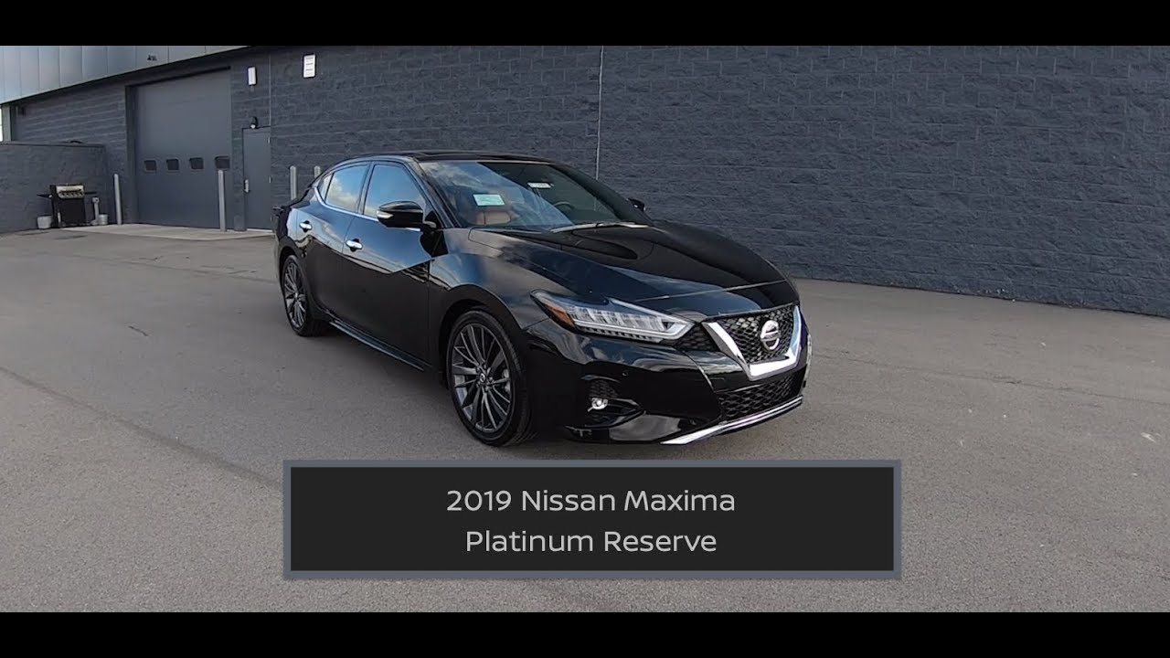 2019 Nissan Maxima Platinum Reserve In Depth Review Test Drive