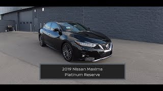 2019 Nissan Maxima Platinum Reserve|In Depth Review|Test Drive