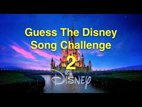 20 MORE great Disney Songs - CAN YOU GUESS THEM?