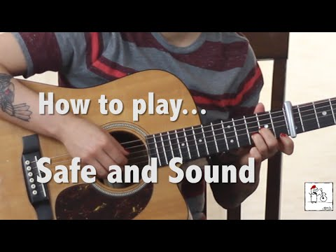 How to play Safe and Sound (Taylor Swift and The Civil Wars) on ...