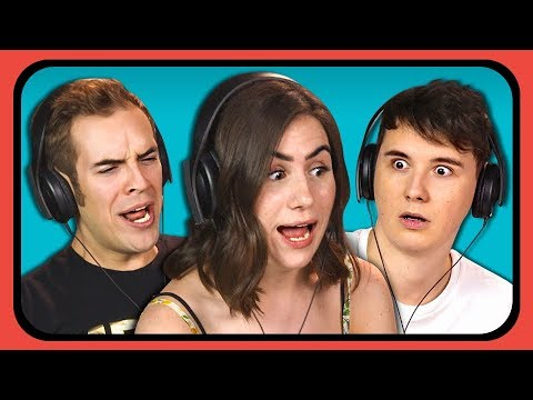 Thumbnail: YOUTUBERS REACT TO 90s INTERNET COMMERCIALS