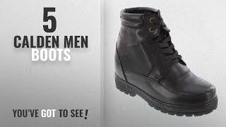 Top 10 Calden Men Boots [ Winter 2018 ]: CALDEN - K881801 - 5.2 Inches Taller - Height Increasing
