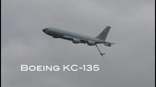 Air to air refuelling aircraft Boeing KC 135R Stratotanker walk around and cockpit interior