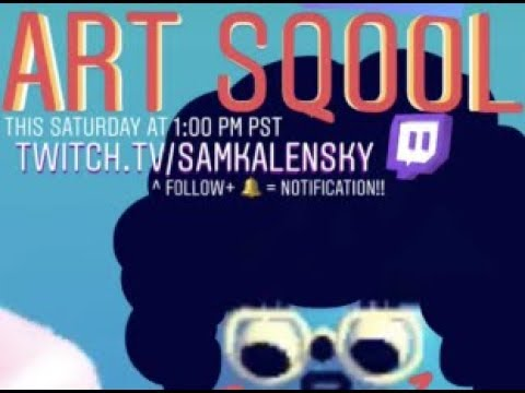 ART SQOOL – Full game – lets play SamKalensky