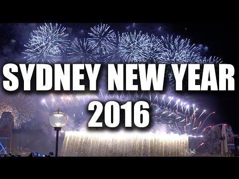 SYDNEY BEST NEW YEAR'S EVE FIREWORKS SHOW 2015/2016 - AUSTRALIA | VLOG #61
