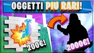 FORTNITE: PLUS RARI ET COSTOSI!!! RARE SKINS/BUNDLE/SPRAY RARE!