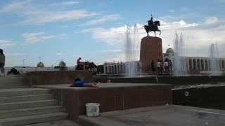 Центральный пляж Бишкека.