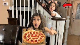 Johnny Johny Yes Papa Pretend Play! Pizza delivery Nursery Rhymes Song