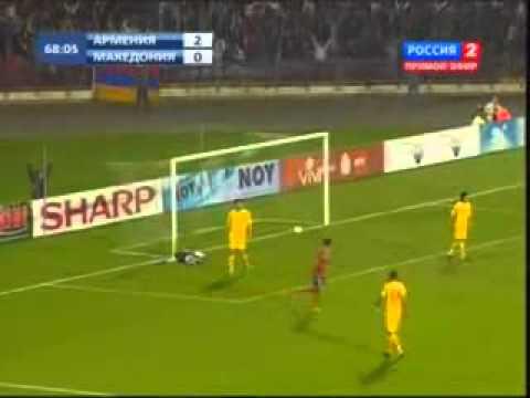 Армения — Македония 4-1 Все голы Www.arbugo.am