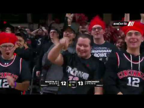 Men's Basketball Highlights: Cincinnati 67, Wichita State 64 (Courtesy ESPN)