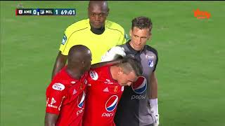 Goles América 1-2 Millonarios - Semifinal ida | Win Sports