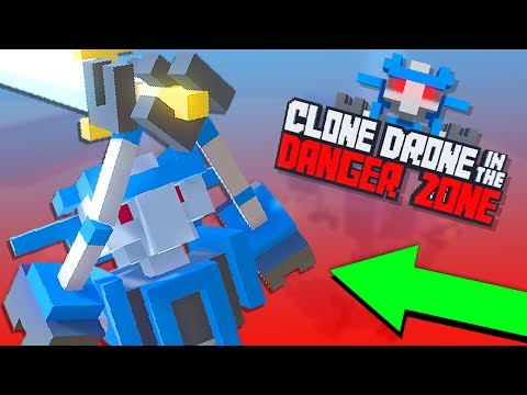 OS ROBÔS GLADIADORES !! → Clone Drone in the Danger Zone 🎮